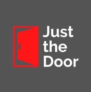 Just the door logo