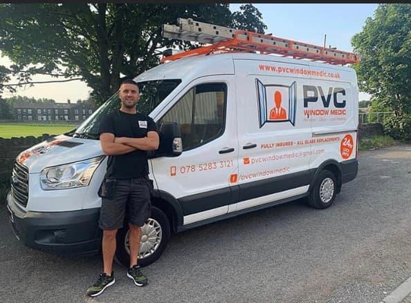 PVC Window Medic van pic